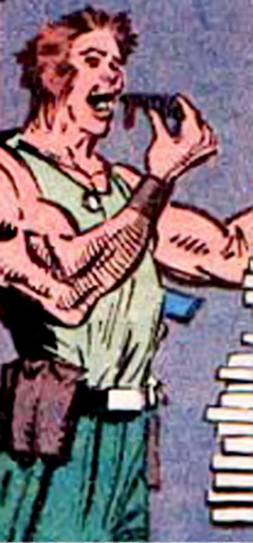 Piston of the Harriers (X-Men ally) (Marvel Comics)