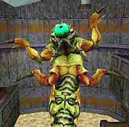 Pit Worm in the Half-Life video game