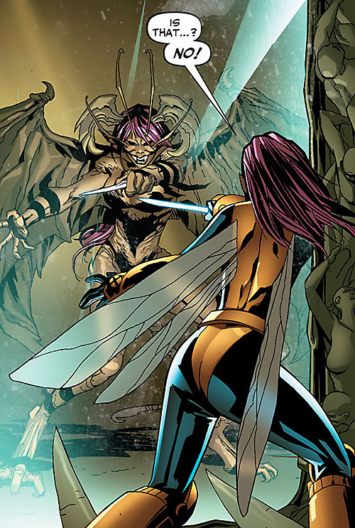 Pixie of the X-Men (Marvel Comics) and her evil side