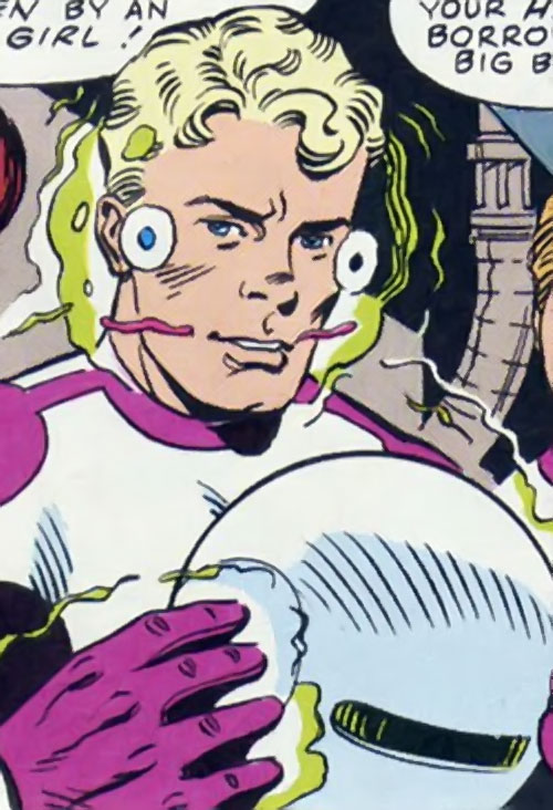 The Planet of Mystery, Inc. (963 Image Comics by Moore) human face closeup