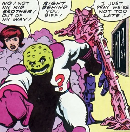 The Planet, Neon Queen and Crystal Man (Mystery, Inc. 1963 comics)