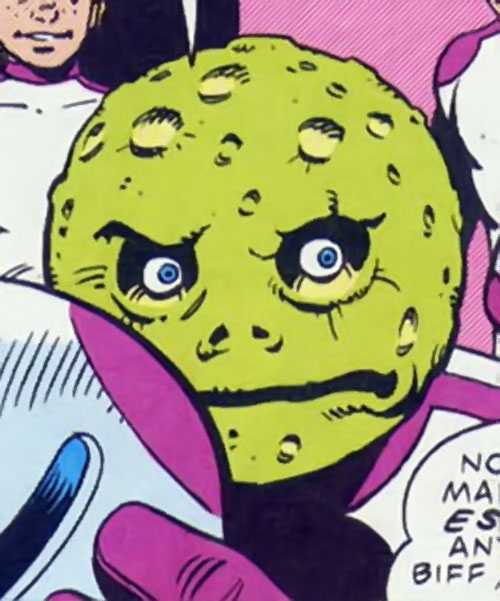 The Planet of Mystery, Inc. (963 Image Comics by Moore) face closeup