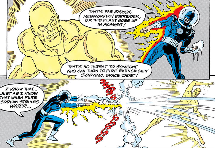 Planet Master - DC Comics - Strike Force Kobra - vs. Metamorpho