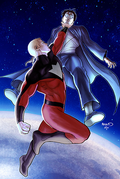 Plutonian (Irredeemable Boom Comics) in orbit