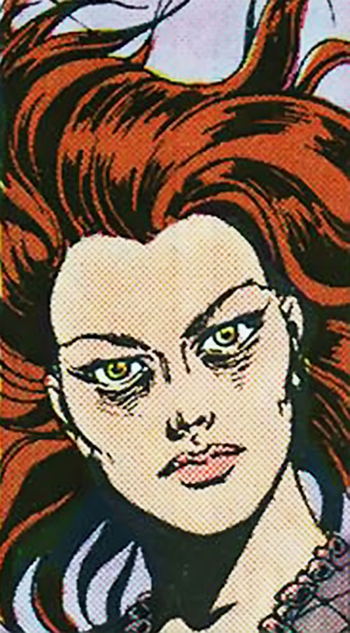 Poison (Spider-Man character) (Marvel Comics) face closeup
