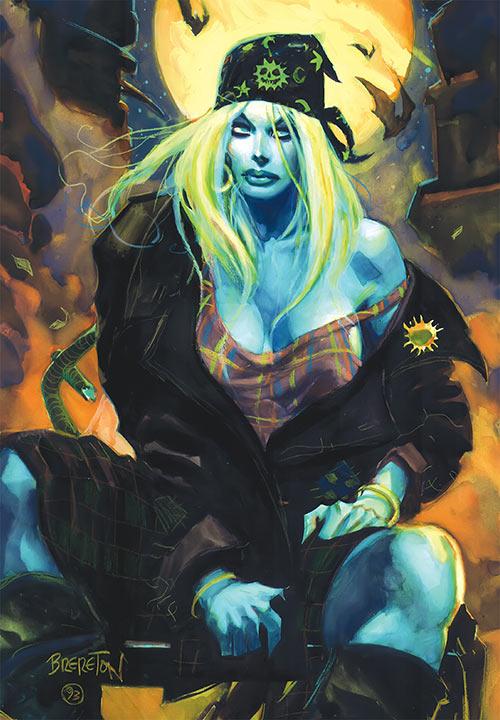 Polychrome (Nocturnals comics) (Dan Brereton) grunge rocker