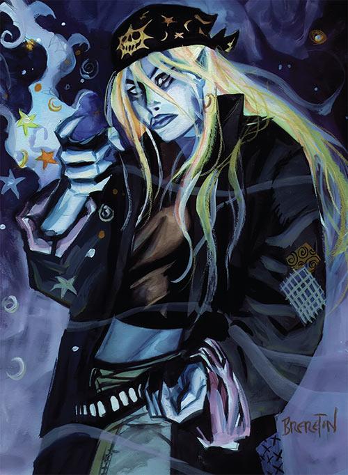 Polychrome (Nocturnals comics) (Dan Brereton) big black jacket