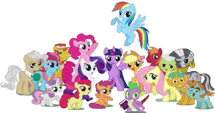 My Little Pony (MLP) - main characters