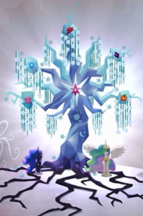 My Little Pony (MLP) - Magic tree of harmony