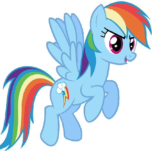 My Little Pony (MLP) - Rainbow Dash
