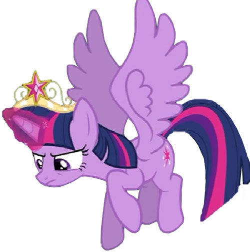 My Little Pony (MLP) - Twilight Sparkle as a princess