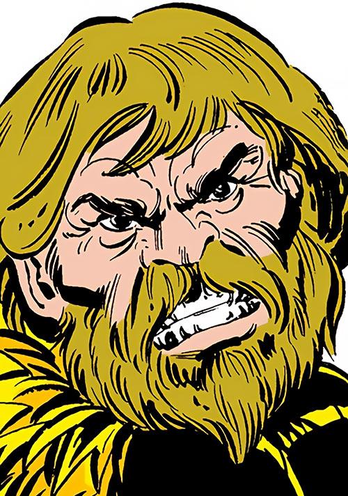 Porcupine (Marvel Comics) (Second suit) face closeup