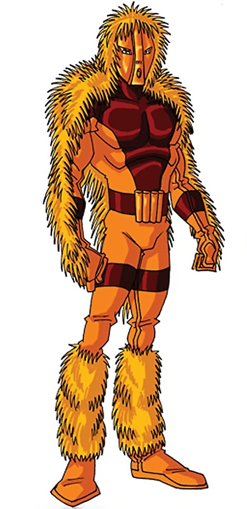 Porcupine (Marvel Comics) (Second suit) by RonnieThunderbolts