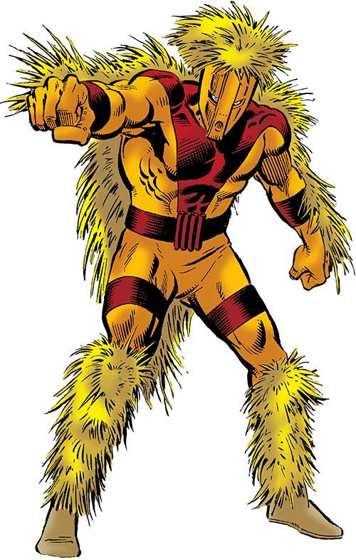 Porcupine (Marvel Comics) (Second suit)