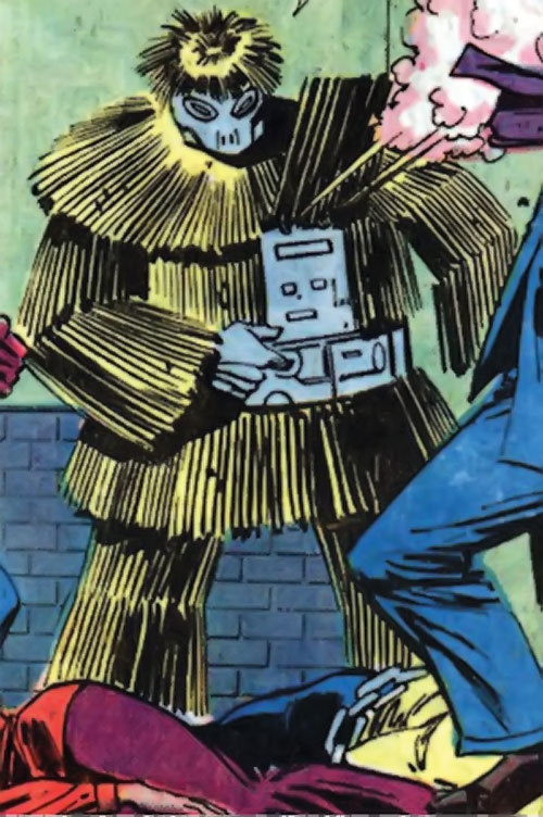 Porcupine (Marvel Comics) using gas