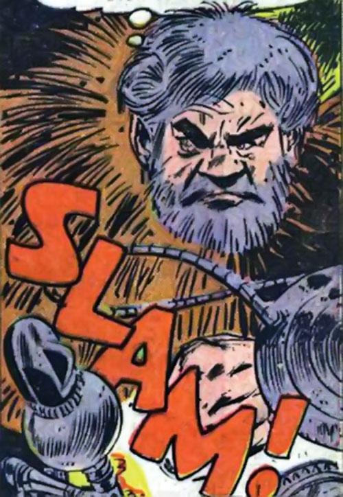 Porcupine (Marvel Comics) face closeup