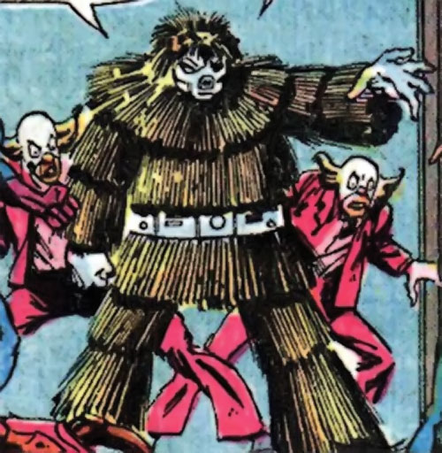 Porcupine (Marvel Comics) and a pair of bozos