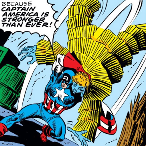Porcupine (Marvel Comics) vs. Captain America