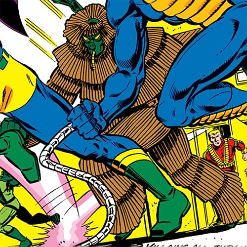 Porcupine (Marvel Comics) and other Justin Hammer agents