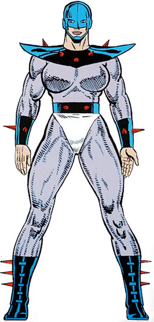 Poundcake (Marvel Comics) from the Master Edition handbook