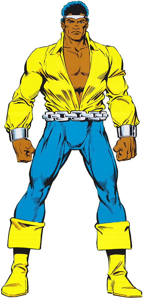 Luke Cage as Power Man during the 1980s (Marvel Comics)