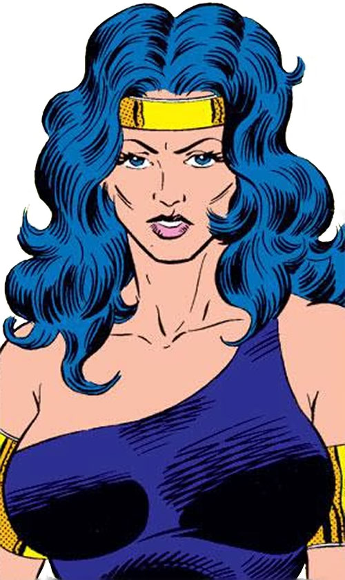 Power Princess of the Squadron Supreme (Marvel Comics) portrait