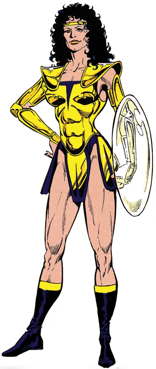 Power Princess of the Squadron Supreme (Marvel Comics)