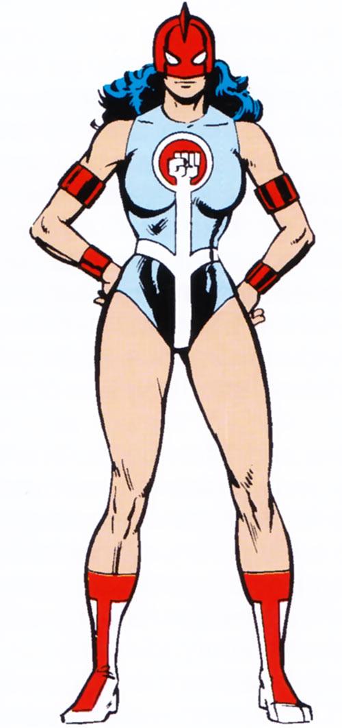 Power Princess of the Squadron Supreme (1983 Marvel Comics handbook)