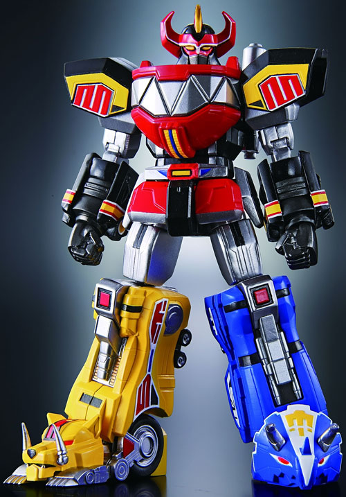 Mighty Morphin' Power Rangers team - MegaZord figure