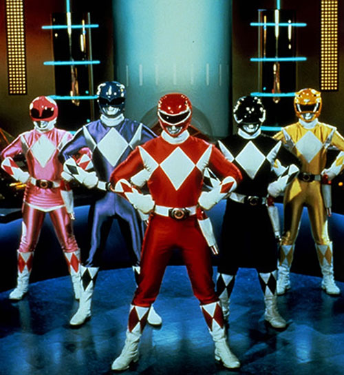 Mighty Morphin' Power Rangers team