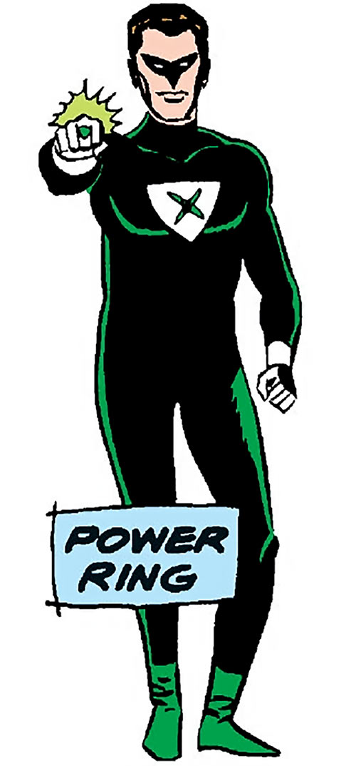 Power Ring (DC Comics) (Pre-Crisis Crime Syndicate of America)