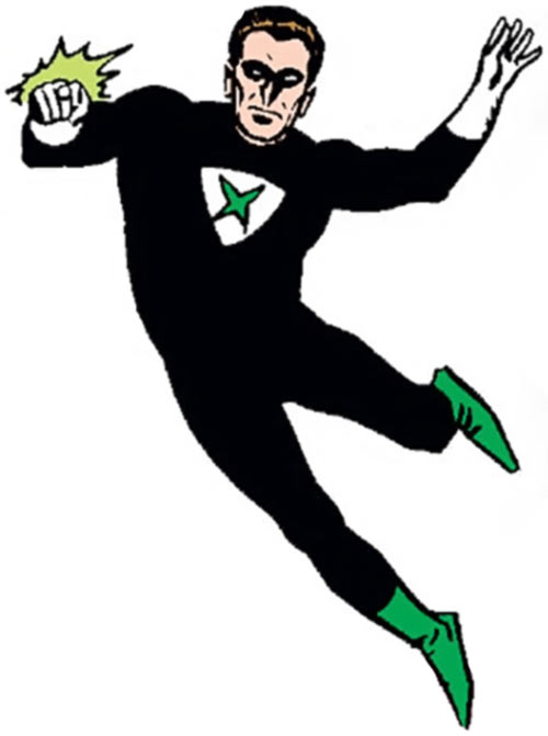 Power Ring (DC Comics) (Pre-Crisis Crime Syndicate of America) flying
