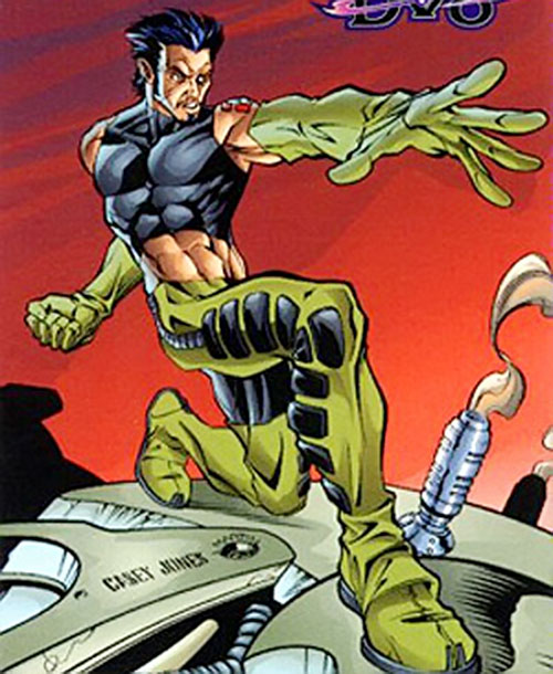 Powerhaus (DV8) (Wildstorm Comics) trading card