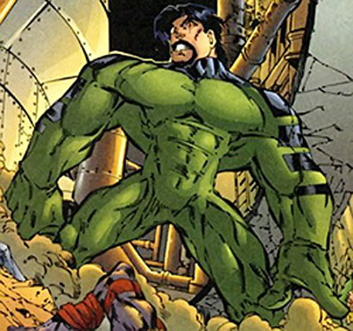 Powerhaus (DV8) (Wildstorm Comics) with a huge body and a beard