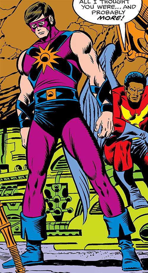 Powerhouse of Xandar (Nova character) (Marvel Comics) and the Condor
