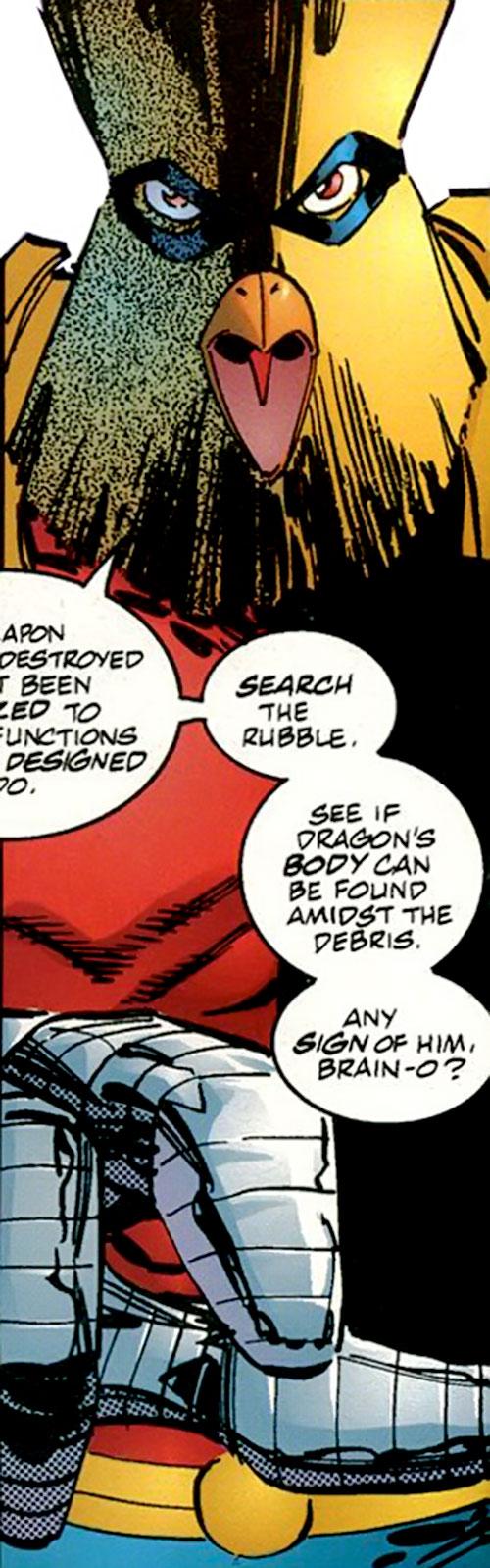 Powerhouse (Savage Dragon comics character) face closeup