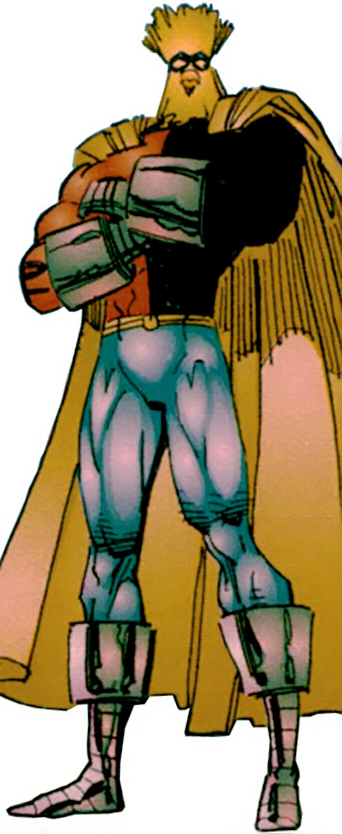 Powerhouse (Savage Dragon comics character) with arms crossed