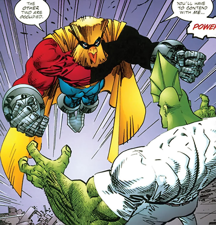 Powerhouse (Denny Atlas) vs. Savage Dragon