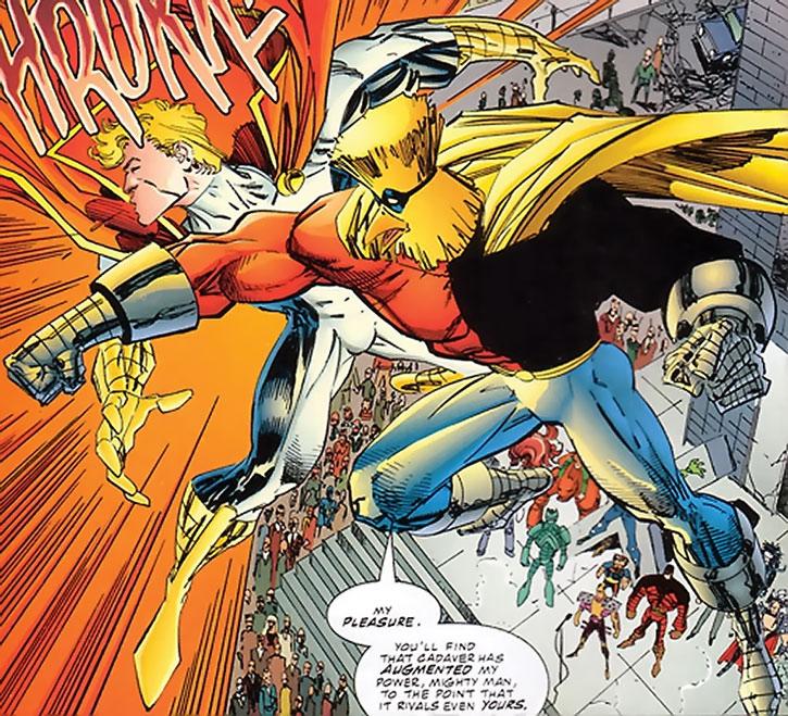 Powerhouse (Denny Atlas) vs. Mighty Man