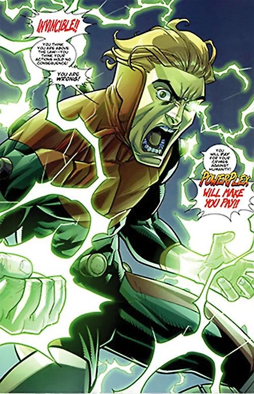 Powerplex (Invincible comics) enraged