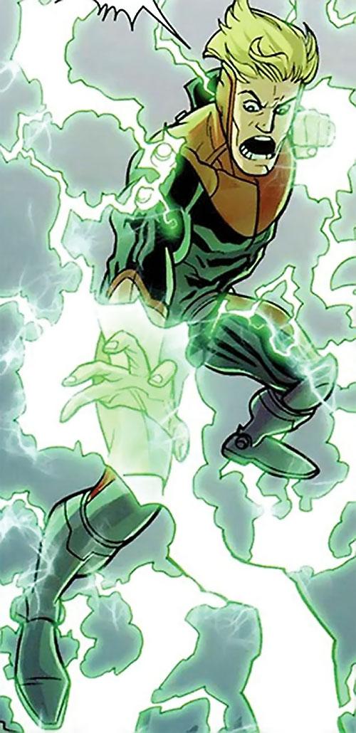 Powerplex (Invincible comics) blasting