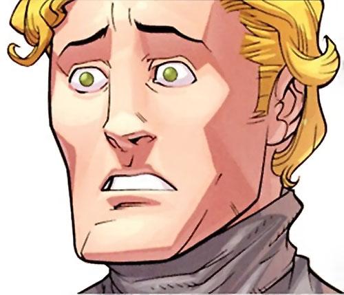 Powerplex (Invincible comics) face closeup