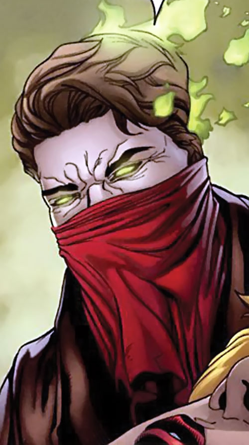 Prairie Ghost of the End League (Dark Horse Comics) masked face red bandanna