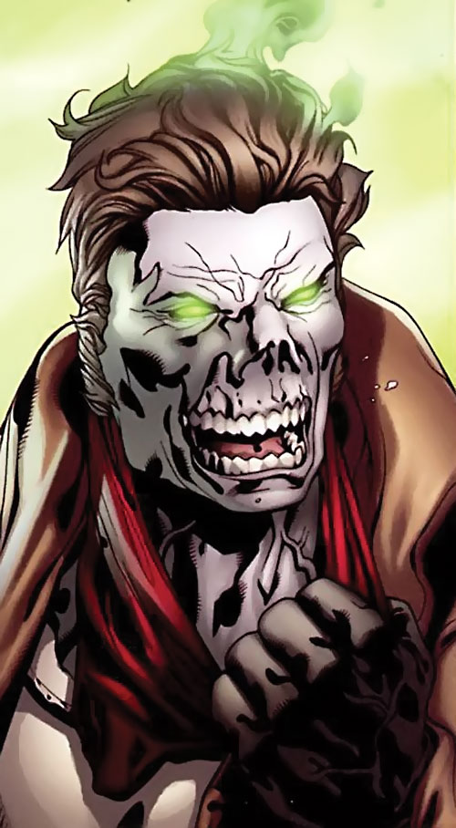 Prairie Ghost of the End League (Dark Horse Comics) face closeup