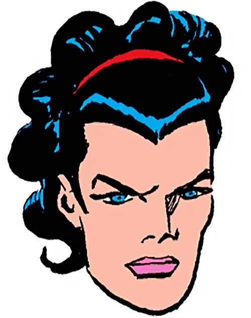 Pravda of the People's Heroes (DC Comics) face closeup