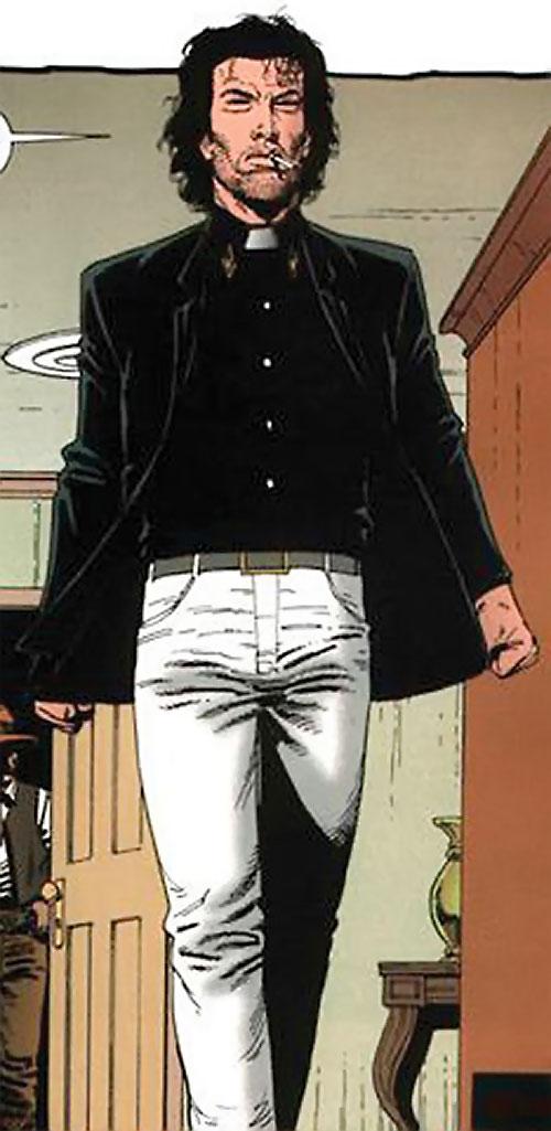 Preacher (Jesse Custer) (DC Comics Vertigo) in white jeans