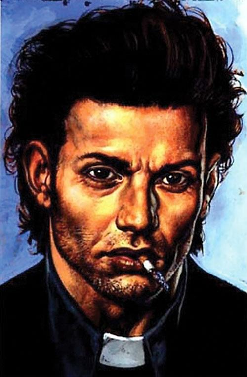 Preacher (Jesse Custer) (DC Comics Vertigo) portrait