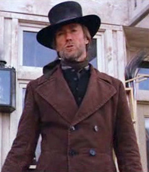 The preacher (Clint Eastwood in Pale Rider)