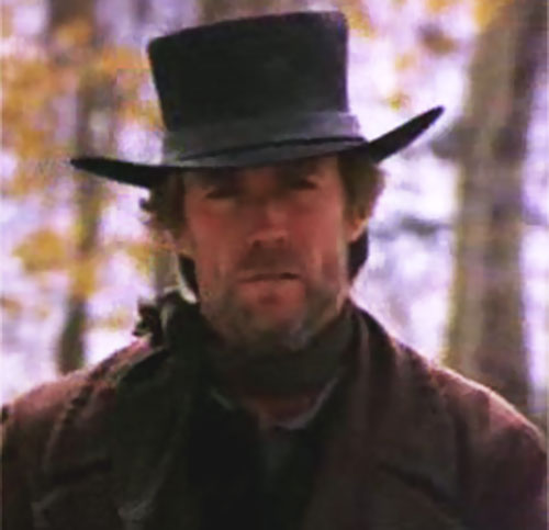 The preacher (Clint Eastwood in Pale Rider) portrait