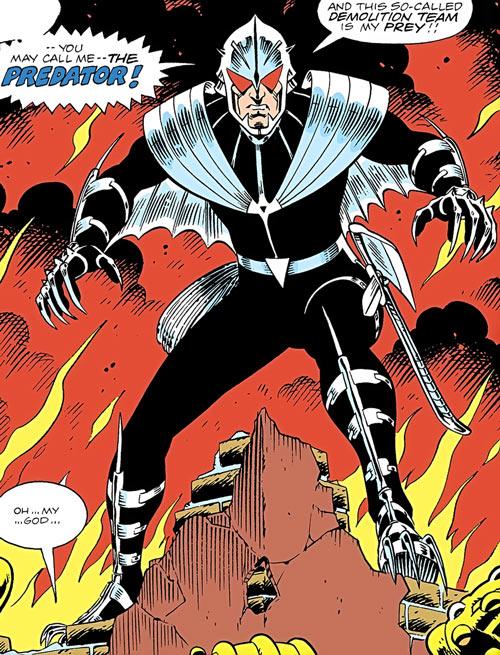 Predator (Carol Ferris) (DC Comics) (Green Lantern) first appearance